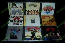 Alabama 12 CD Lot Greatest Hits 1 2 3 Ultimate 20 #1s For The Record In The Mood