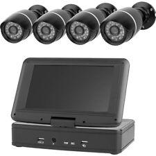 Analog Überwachungskamera-Set 4-Kanal 4 Kameras 1280 x 720 Pixel 500 GB EL431DVR