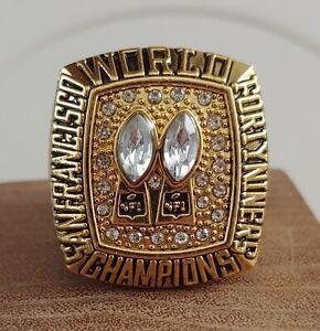 San Francisco 49ers Championship Replica Montana Super Bowl Ring Size 11