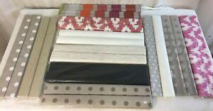 Gros Lot de Travers Chemin De Table Tissus 22 Pieces Arts de la Table Decor S34