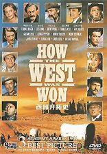 How The West Was Won - UK Region 2 Compatible DVD  James Stewart, John Wayne NEW