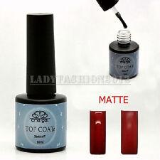 New 10ML Matte Opaque CHE Soak-Off UV LED Nails Art UV Top Coat Gel Polish