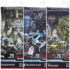 Transformers Studio Series 29 Deluxe Sideswipe Bumlebee Barricade *NEW*