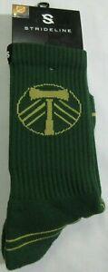 Strideline Portland Timbers  Full Knit 1 MLS Men's Sock One Size