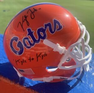 Kyle Trask Signed Gators Mini Helmet