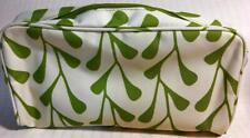 """Clinique Large Cosmetic Makeup Travel Bag with Zipper/Lining """"GREEN VINES"""" NEW!"""
