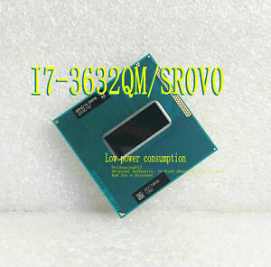 Intel Core i7 3632QM (SR0V0) Quad-Core 2.2GHz  6M PGA 988 Notebook processor