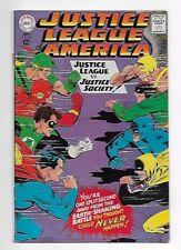 Justice League of America #56 1967 Fine/Very Fine 7.0