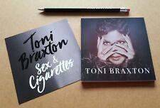 TONI BRAXTON Sex & Cigarettes 2018 UK promo only notebook & pencil set