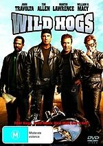 Wild Hogs NEW DVD Tim Allen John Travolta Martin Lawrence (Region 4 Australia)