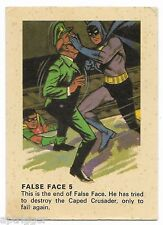 1966 Batman Weeties & Rice Krinkles False Face 5 (Very Good)