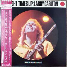 "1982""NM Wax"" Larry Carlton Eight Times Up P-13012 Japan A Digital Recording"