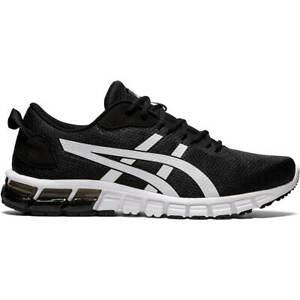 ASICS Men's GEL-Quantum 90 Running Shoes 1201A054 Black White
