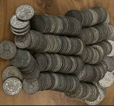 100 COIN LOT - MEXICO 10% SILVER PESO COINS - 1957-1967 ASSORTED YEARS...