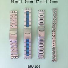 SWATCH IRONY BRACELETS BANDS STRAPS ORIGINAL VINTAGE - LOT OF 4 - BRA005