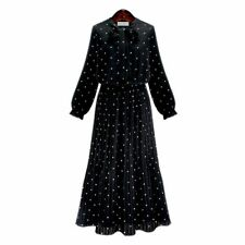 Cotton Long Sleeve Plus Size Dresses for Women