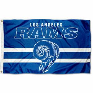 3x5 Foot Los Angeles Rams Throwback Retro Vintage Logo Flag