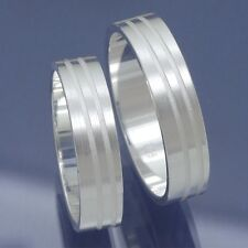 1 pares de plata 925 anillos de amistad de amistad, compromiso, alianzas p6216768
