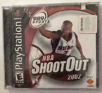 NBA ShootOut 2002 (PlayStation 1, 2001) - Brand New Factory Sealed - Fast Ship