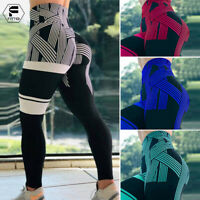 Womens High Waist Yoga Pants Seamless Gym Fitness Legging Stretchy Sportswear US