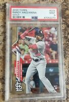 Randy Arozarena 2020 Topps Gold RC PSA 9 #/2020 Rookie Tampa Bay Rays!