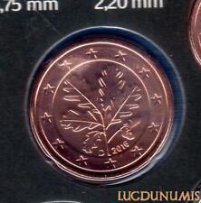 Allemagne 2016 5 centimes D Munich BU FDC provenant coffret 33000 exemplaires -