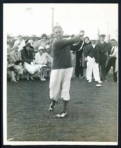 "1930 Terry Lewis, ""West Palm Beach Golf Prl"" Head to Toe Off the Tee Photo"