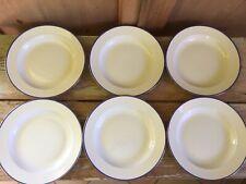 RICHARD GINORI Art Decò 1934 Piatto 6 Fondi Porcellana Antiquariato Soup Plate