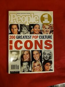 People VH1  200 Greates Pop Culture Icons, Tom Cruise, Elvis, JFK Jr., -Free S&H