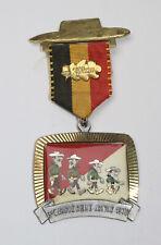 Médaille de marche_017_1976, 3e marche reine Astrid, 20 km, frères daltons
