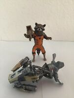 Marvel Legends Hasbro Groot BAF Series Rocket Raccoon Action Figure Loose