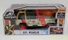 Mattel 1/18 Scale Minicar Jeep Wrangler 0887961629828 Jurassic Park Car