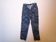 GENUINE USN US NAVY WORKING UNIFORM TYPE II NWU PANTS BLUE LARGE LONG 11-A