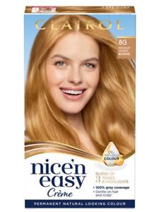 Clairol Nice'n Easy Creme Natural Looking Hair Dye 8G Medium Honey Blonde