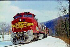 Original Slide Santa Fe GE Dash 9-44C Diesel Renovo, PA (1997) Item #CC238