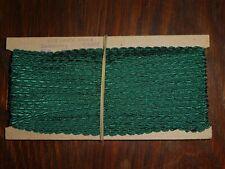 10m uralte SEIDEN Litze-Tresse Braun Antik 5mm KEINE SYNTHETIK um 1920//30