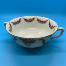 Epiag China 9954-9195 OPEN SUGAR BOWL Czechoslovakia 1938 Floral Swag