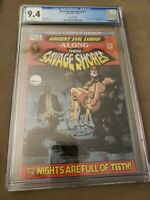 These Savage Shores #1 2ND Print TOMB OF DRACULA HOMAGE COVER CGC 9.4 NM.