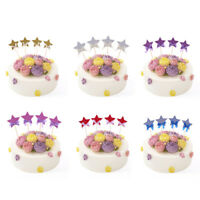 4x Twinkle Twinkle Little Stars Cake Toppers Baby Shower Birthday Cupcake Picks