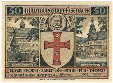 Notgeld - Stadt Eisenach - 50 Pfennig - 1922 - Motiv 2: Schutzpatron
