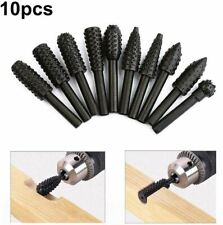 Rasp Chisel Drill Bits Woodworking Rasp Chisel Shaped Rotating Embossed Grinding