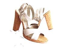 Women's Sandals Platform Sandals High Heels Designer Martinez Valero Heels 8.M