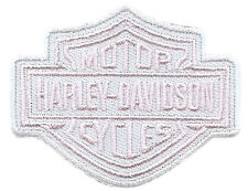 HARLEY DAVIDSON RARE PINK BAR SHIELD PATCH  HARLEY  PATCH