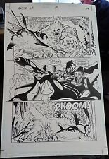 BATMAN #1,000,000 PG #14 1998 ORIGINAL COMIC ART-SAL BUSCEMA(SIGNED)-GREAT COND.