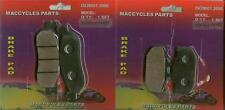 Yamaha Disc Brake Pads XT250/X 2005-2015 Front & Rear (2 sets)