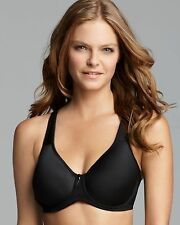NWT Wacoal 853192 Basic Beauty Contour Spacer Bra 38DDD Black Full Coverage
