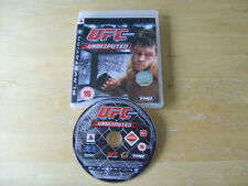 PLAYSTATION 3 GAME  UFC UNDISPUTED 2009  *No Manual*      *FREE UK P&P*