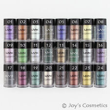 "6 NYX Pigments Eye shadow Powder ""Pick Your 6 Color""  *Joy's cosmetics*"