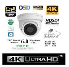 Nib 6Mp Sony Exmor V3 Progressive Scan 2.8-12Mm Outdoor 30Ir Dome Hd-Cvi