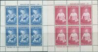 New Zealand 1963 SG816a Health Prince Andrew set of 2 MS MNH